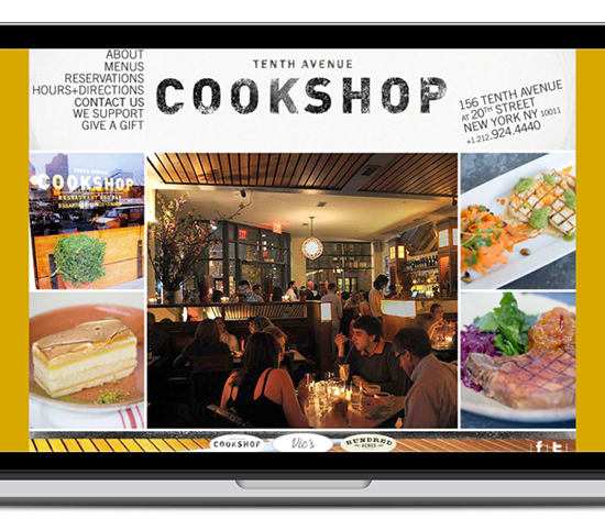 cookshop nyc website
