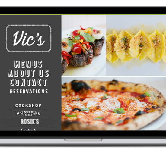 vic's restaurant website