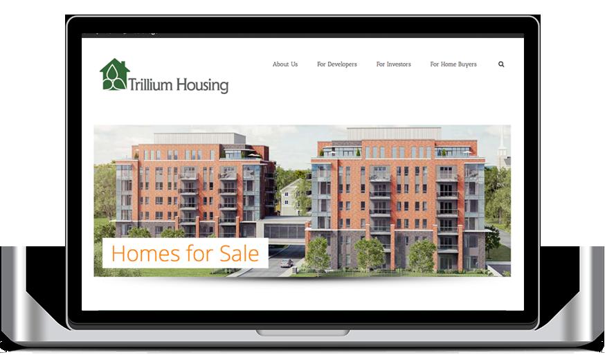 trillium housing website