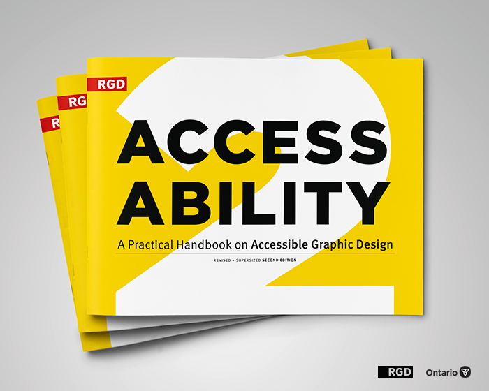 Cover of AccessAbility design guide by the RGD